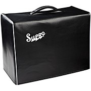 Supro 1x10 Black Vinyl Amp Cover with Logo