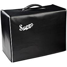 Supro 1x10 Black Vinyl Amp Cover with Logo