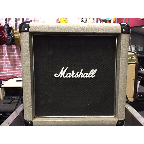 Used Marshall 1x10 Guitar Cabinet Black And Silver Guitar Cabinet ...