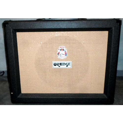 Orange Amplifiers 1x12 PPC Black Guitar Cabinet-thumbnail