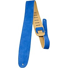 "Perri's 2-1/2"" Suede Leather Guitar Strap"