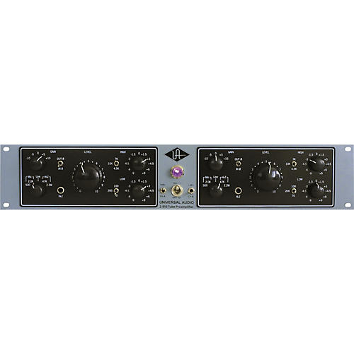 Universal Audio 2-610 Silverface Dual Channel Mic Pre-thumbnail