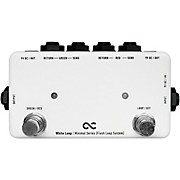 One Control 2 Channel Loop Flash Switcher with True Bypass Pedal