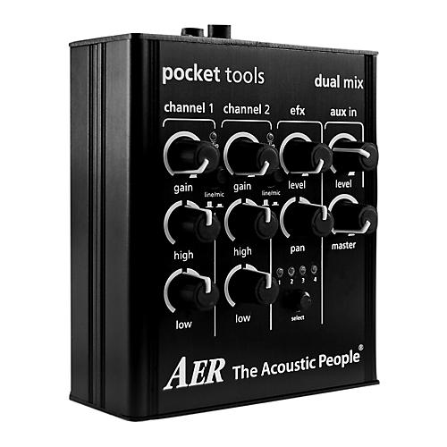 AER 2 Channel Preamp/Mixer with 4 Onboard Effects Preamp-thumbnail