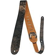 "Perri's 2"" Deluxe Leather Guitar Strap with Suede Back"