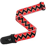 "D'Addario Planet Waves 2""  Guitar Strap, Zig-Zag, by D'Addario"