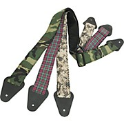 "Perri's 2"" Guitar Strap with Fabric Design"