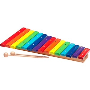 Stagg 2 Octave Rainbow Xylophone, 15Keys, C-C by
