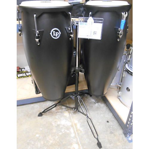 LP 2 Piece CITY CONGAS Black Drum