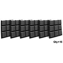"Auralex 2"" SonoFlat 2'x2'x2"" Panels (16 pack) Level 1 Charcoal"