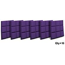 """Auralex 2"""" SonoFlat 2'x2'x2"""" Panels (16 pack) Level 1 Purple"""