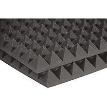 "Auralex 2"" StudioFoam Pyramid 2''x2'x2"" Panels (12 pack) Level 1 Charcoal"