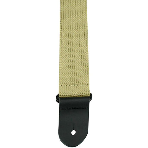 Perri's 2 in. Cotton Guitar Strap with Leather Ends-thumbnail