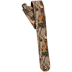 LM Products 2.5 inch Leather Guitar Strap Camo by LM Products