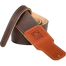 "Boss 2.5"" Premium Leather Guitar Strap"
