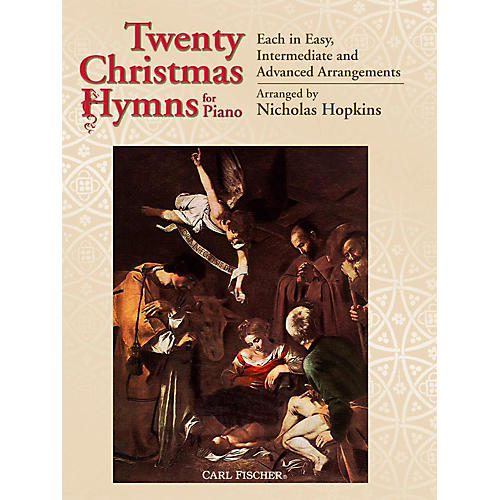 Carl Fischer 20 Christmas Hymns for Piano-thumbnail
