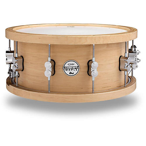 PDP by DW 20-Ply Maple Snare with Wood Hoops and Chrome Hardware-thumbnail