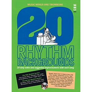 Music Minus One 20 Rhythm Backgrounds Music Minus One Trombone Music Minu... by Music Minus One