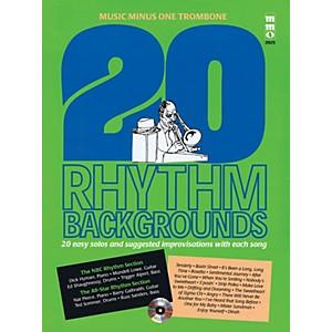 Click here to buy Music Minus One 20 Rhythm Backgrounds Music Minus One Trombone Music Minu... by Music Minus One.