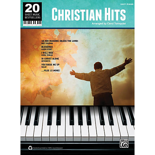 Alfred 20 Sheet Music Bestsellers Christian Hits Easy Piano Book-thumbnail