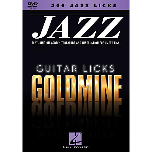 Hal Leonard 200 Jazz Licks - Guitar Licks Goldmine DVD Series