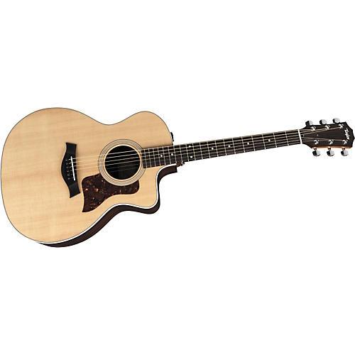 Taylor 200 Series 214CE Grand Auditorium Acoustic-Electric Guitar (2010 Model)