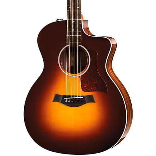 Taylor 200 Series 214ce DLX Grand Auditorium Acoustic-Electric Guitar-thumbnail