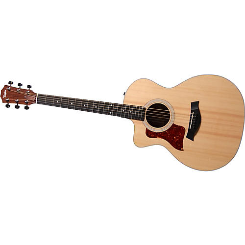 Taylor 200 Series 214ce Left-Handed Grand Auditorium Acoustic-Electric Guitar