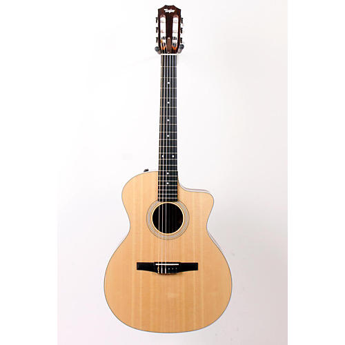 Taylor 200 Series 214ce-N Grand Auditorium Nylon String Acoustic-Electric Guitar-thumbnail