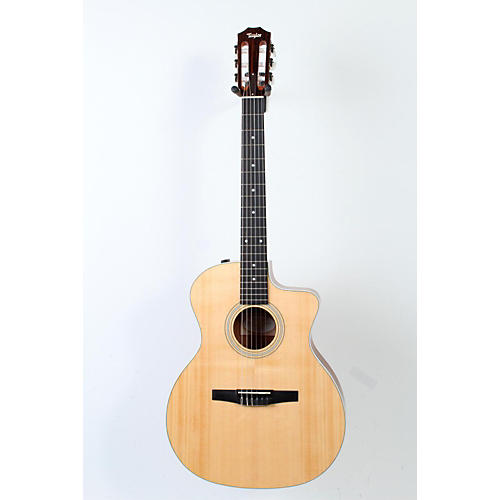 Taylor 200 Series 214ce-N Grand Auditorium Nylon String Acoustic-Electric Guitar