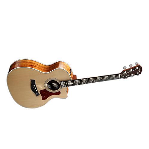 Taylor 200 Series Spruce/Koa Grand Auditorium Cutaway Acoustic-Electric Guitar-thumbnail