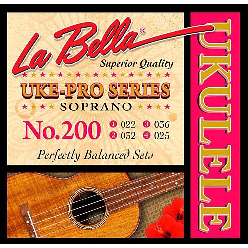 LaBella 200 Uke-Pro Soprano Ukulele Strings-thumbnail