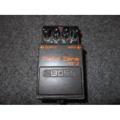 Boss 2000 MT2 Metal Zone Distortion Effect Pedal