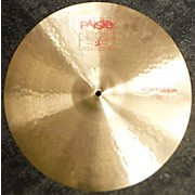 Paiste 2000s 18in 2002 Power Crash Cymbal