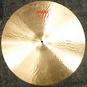 Paiste 2000s 24in 2002 Ride Cymbal