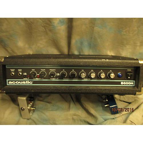 Acoustic 2000s B600H 600W Bass Amp Head