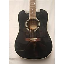 Fender 2000s DG16E12 12 String Acoustic Electric Guitar