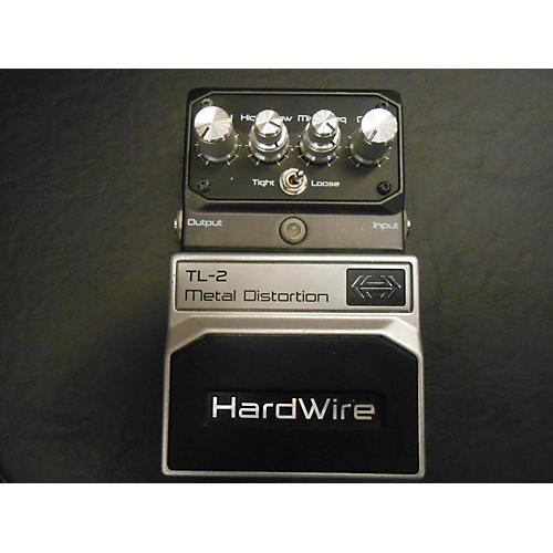 Digitech 2000s Hardwire Series TL2 Metal Distortion Effect Pedal-thumbnail