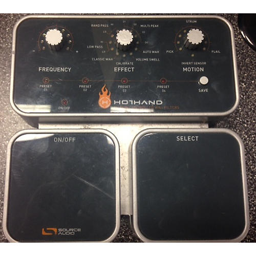 Source Audio 2000s Hothand Motion Filter Effect Pedal Gray 0