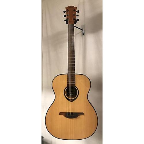 used lag guitars 2000s t66a acoustic guitar natural guitar center. Black Bedroom Furniture Sets. Home Design Ideas