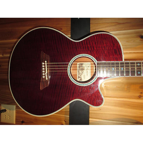 Takamine 2001 EF108WR Acoustic Electric Guitar