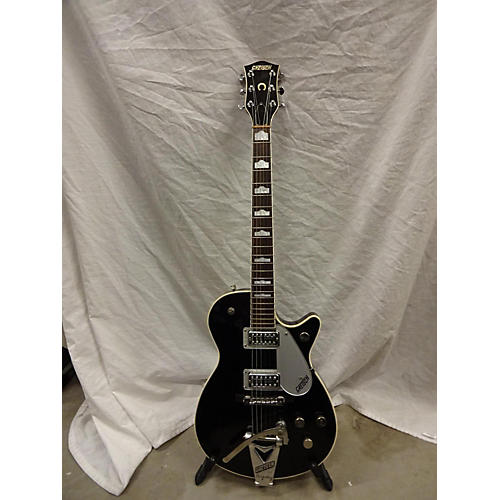 used gretsch guitars 2001 g6128t duo jet solid body electric guitar black guitar center. Black Bedroom Furniture Sets. Home Design Ideas