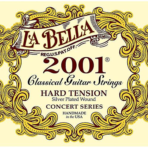 LaBella 2001 Hard Tension Classical Guitar Strings