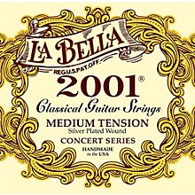 LaBella 2001 Medium Tension Classical Guitar Strings