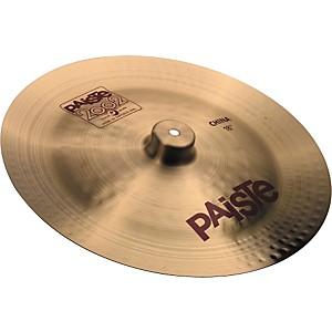 Paiste 2002 China Cymbal by Paiste