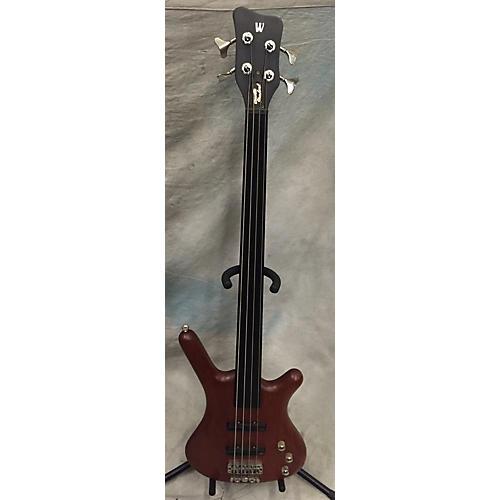 Warwick 2002 Pro Series Standard Corvette 4 String Fretless Electric Bass Guitar