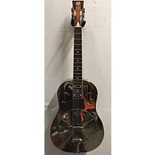 National 2002 RESOPHONIC STYLE N GERMAN SILVER Resonator Guitar