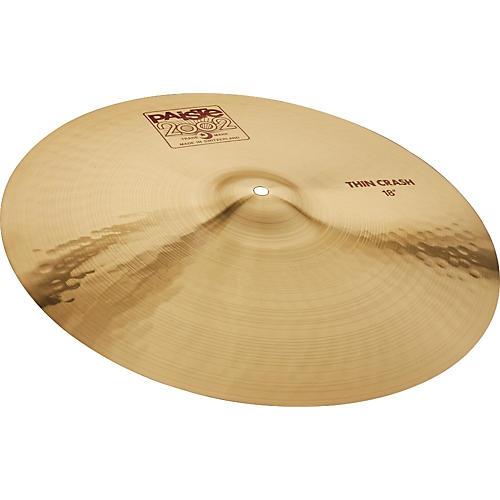 Paiste 2002 Series Thin Crash Cymbal 16 in.