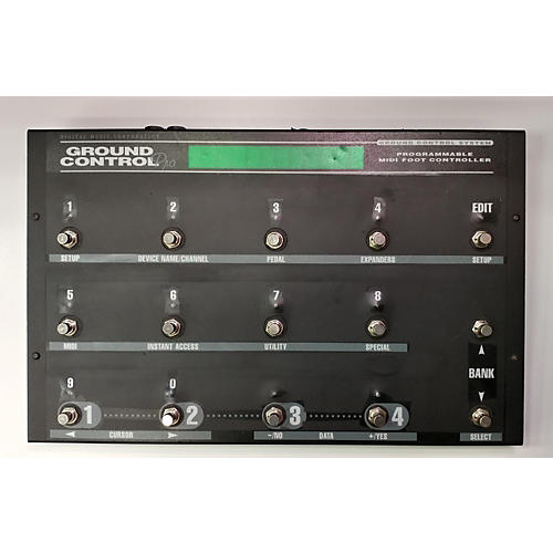 Digital Music Corp. 2003 GROUND CONTROL PRO MIDI Foot Controller