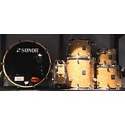 Sonor 2003 S Class Clear Power 6-piece Drum Kit Drum Kit